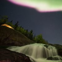與菲哥追著極光跑 Yellowknife Northern Lights Tour