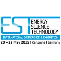 Energy, Science and Technology EST 2015 Conference and Exhibition Karlsruhe