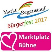 Marktplatzbühne - Regenstaufer Bürgerfest