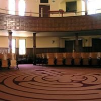 The Labyrinth at the First Unitarian Church of San Jose