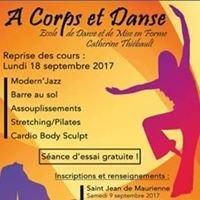 A Corps et Danse