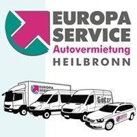 Europa Service Autovermietung Heilbronn und Mannheim