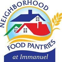Neighborhood Food Pantries at Immanuel