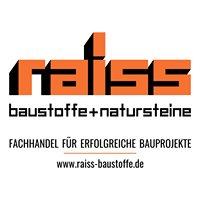 Raiss Baustoffe + Natursteine