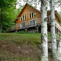 Four Seasons Log Cabin in Vermont