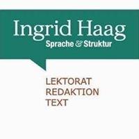 Ingrid Haag - Sprache & Struktur