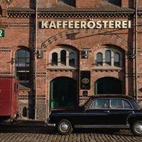 Schwarze Hafen-Nächte in der Speicherstadt-Kaffeerösterei
