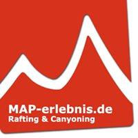 Canyoning und Rafting Allgäu mit MAP-erlebnis.de