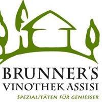 Brunner's Vinothek Assisi