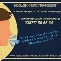 Logopädische Praxis Kathrin Breuel Mundgerecht