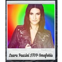 Laura Pausini STOP all'OMOFOBIA