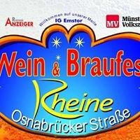 Wein & Braufest Rheine