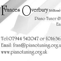 Frances Overbury Piano Tuner East Midlands