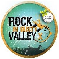 Rock in dusty valley