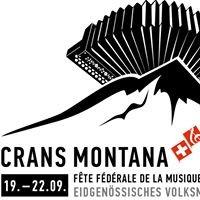 Eidgenössisches Volksmusikfest 2019 Crans-Montana
