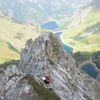 Klettersteig Lachenspitze Nordwand