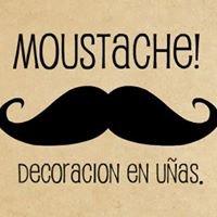 Moustache (decoracion en uñas)