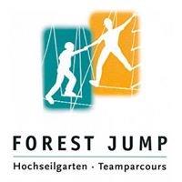Hochseilgarten und Teamparcours Forest Jump