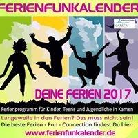 Stadt Kamen - Ferien  Fun Kalender für Kinder, Teens und Jugendliche