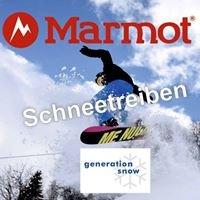Marmot Schneetreiben