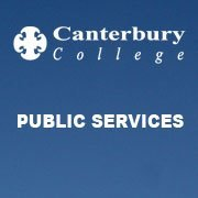 Canterbury College - Public Services