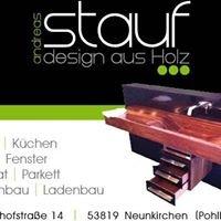 Stauf design aus Holz