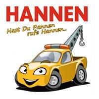 Autovermietung Abschleppdienst Hannen