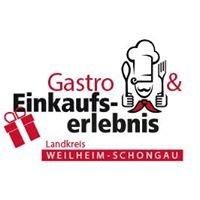 Gastro und Einkaufserlebnis Landkreis Weilheim Schongau