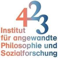 4 2 3 Institut für angewandte Philosophie und Sozialforschung