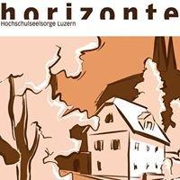 «horizonte» an der UNI, PH und HS Luzern