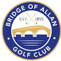 Bridge of Allan Golf Club
