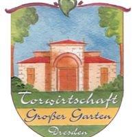 """Torwirtschaft im """"Großen Garten"""" Dresden"""