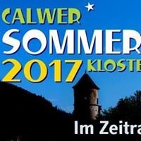 Calwer Sommerkino Kloster Hirsau