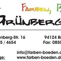 Farben, Böden Grünberger