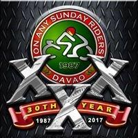 On Any Sunday Riders Club of Davao City