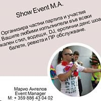 Show Event M.A. 1 - Марио Ангелов
