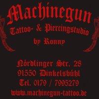 Machinegun Tattoo-Piercingstudio  In Dinkelsbuehl