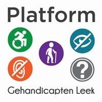 Platform Gehandicapten Leek