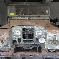 "1955 Land Rover Tempo 86""  Restoration Project"