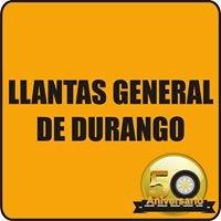 Llantas General de Durango