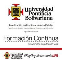 Formación Continua - Universidad Pontificia Bolivariana