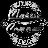 Classic Corner Garage