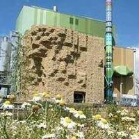 Kletterwand Am Biomassekraftwerk Wicker