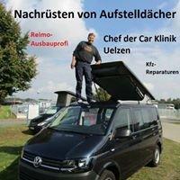 Car Klinik die Autowerkstatt mit Montagen von Schlafdächern