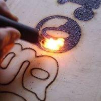 Holzbrandkunst