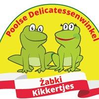 """Polski sklep spożywczy """" Żabki""""- Poolse Delicatessen""""Kikkertjes"""""""