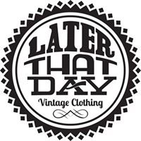 Later That Day Vintage Clothing by Lyrics Born