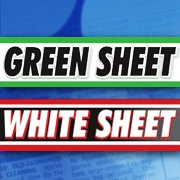 Green and White Sheet