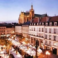Metz, Centre ville
