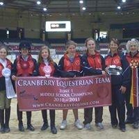 Cranberry Equestrian Team